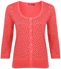 Mexx Rose Polka Dot Cardigan