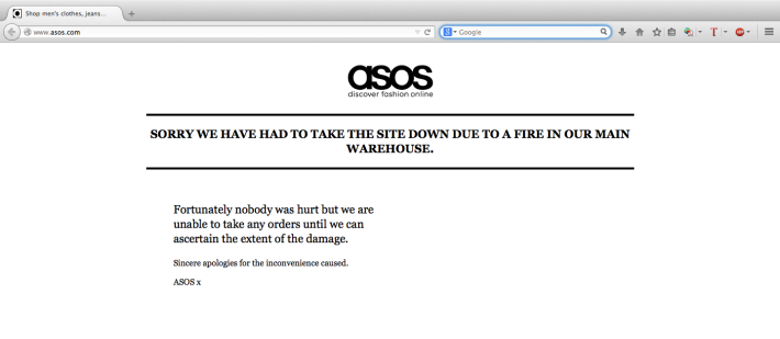 ASOS: Fashion Offline